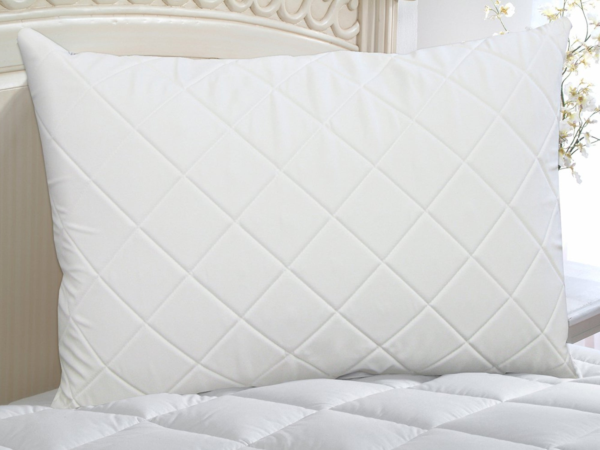Luxury Quilted Memory Foam Pillow