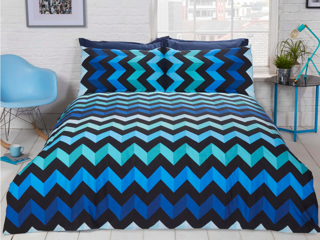 3D Reversible Bedding Set Blue