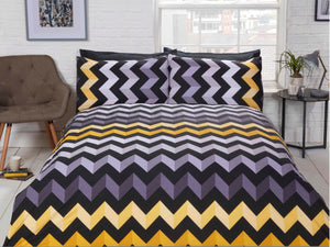 3D Reversible Bedding Set Ochre