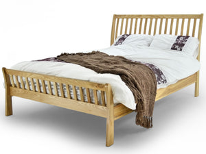 Ashanti Luxury Bed Frame in Solid Oak