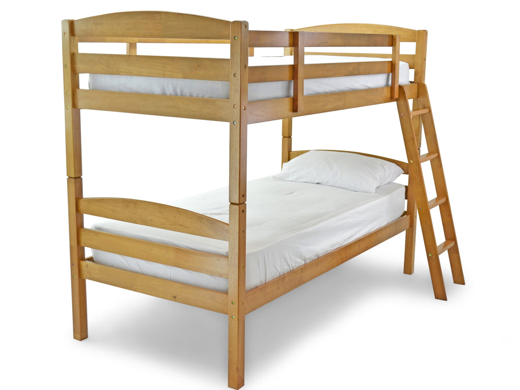 Modella Wooden Bunk Bed in Antique Pine