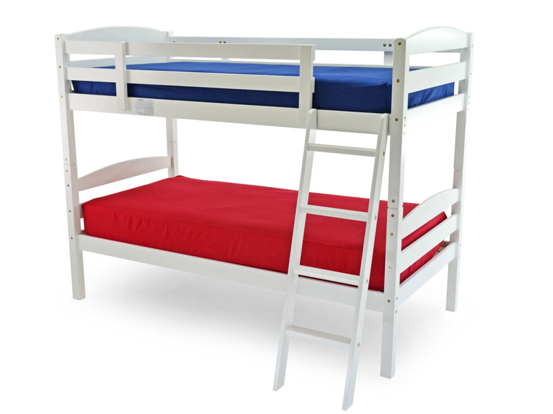 Modella Wooden Bunk Bed in White