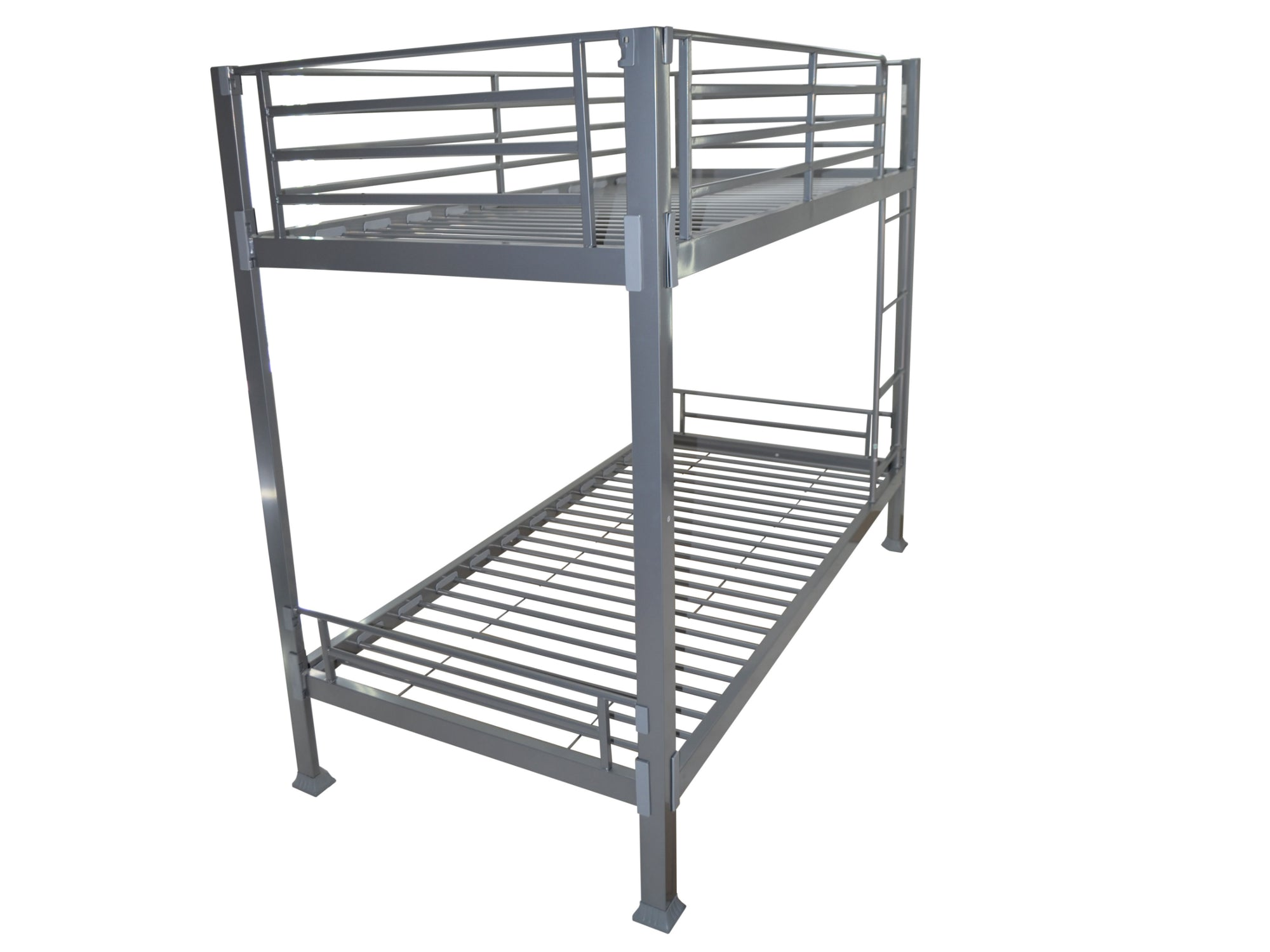 Picture of: Bunkit Metal Bunk Bed In Silver The Cosy Company Ltd
