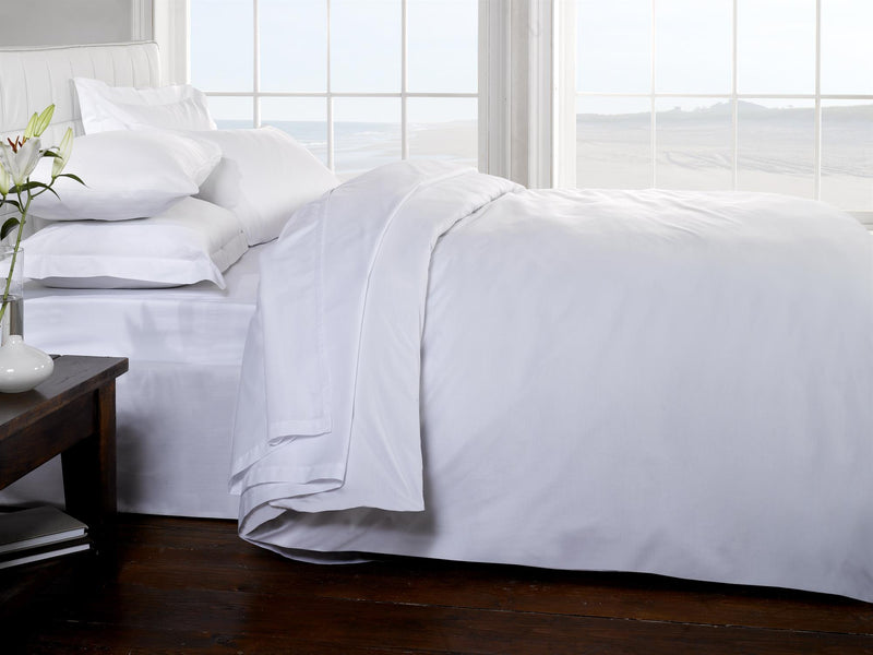 Percale Luxury Bedding Set White
