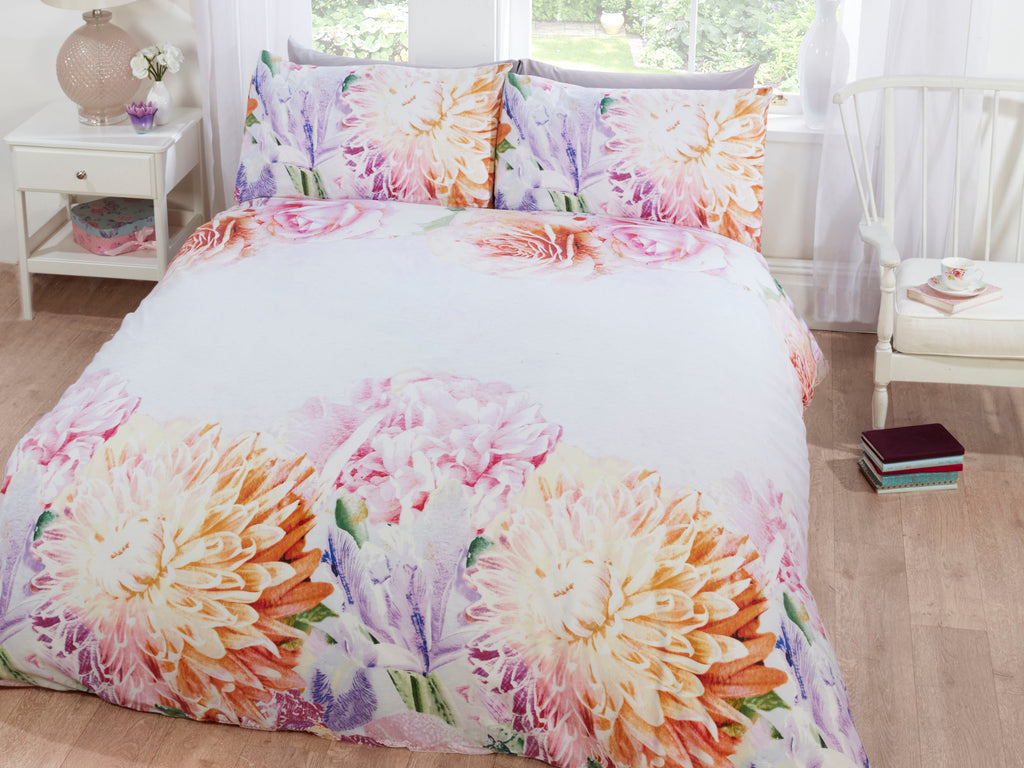 Bloom Bedding Set Pink