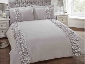 Provence Luxury Bedding Set Grey