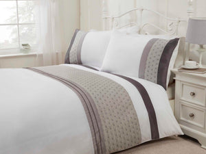 Anise Luxury Bedding Set Silver