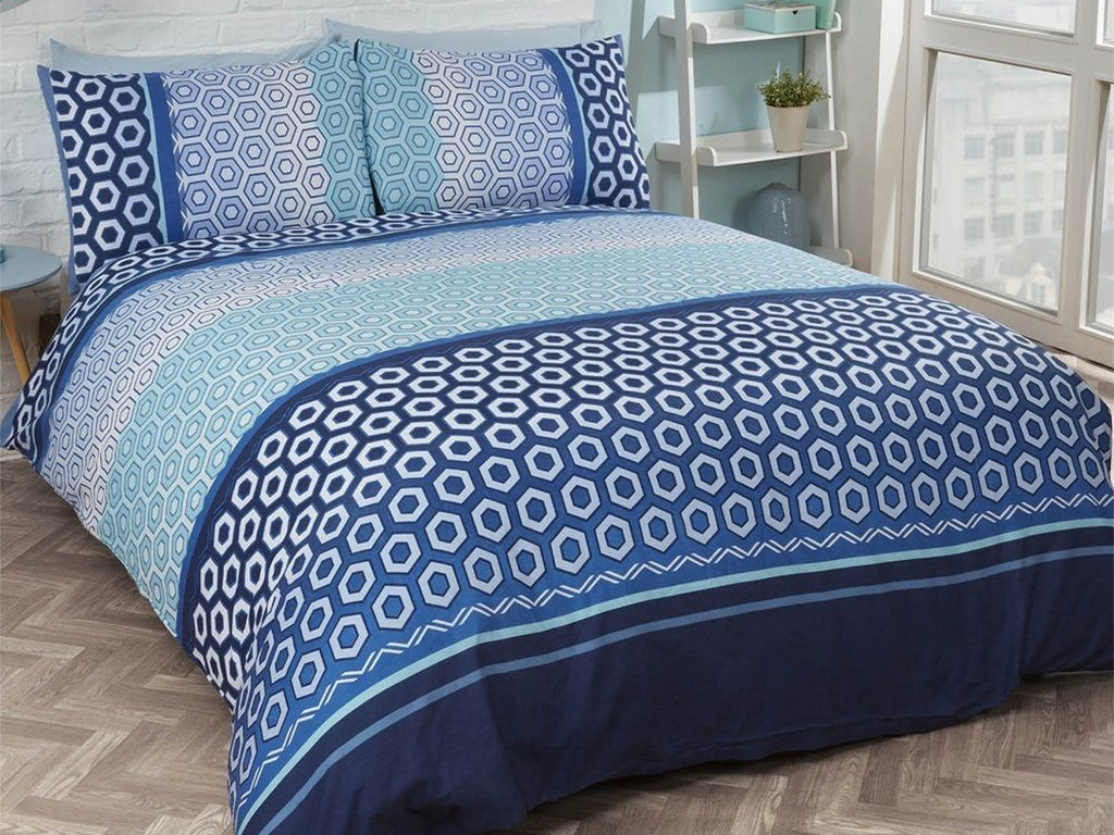 Barbican Bedding Set Blue