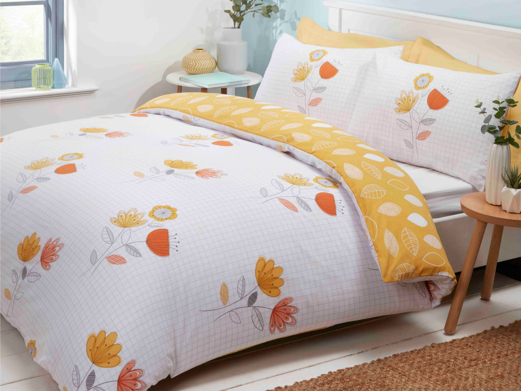 Emeli  Bedding Set Terracotta