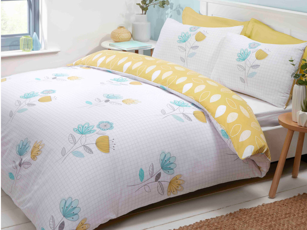 Emeli Bedding Set Duck Egg