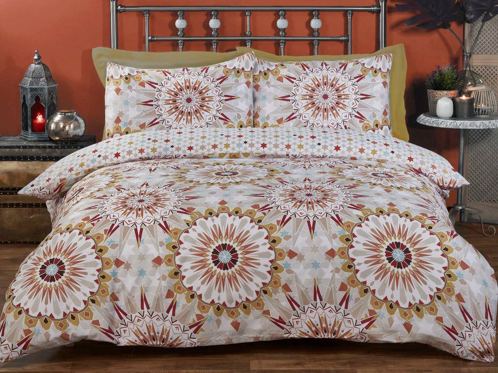 Morocco Bedding Set Terracotta