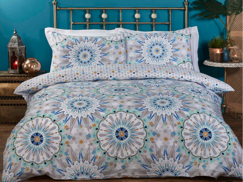 Morocco Bedding Set Blue