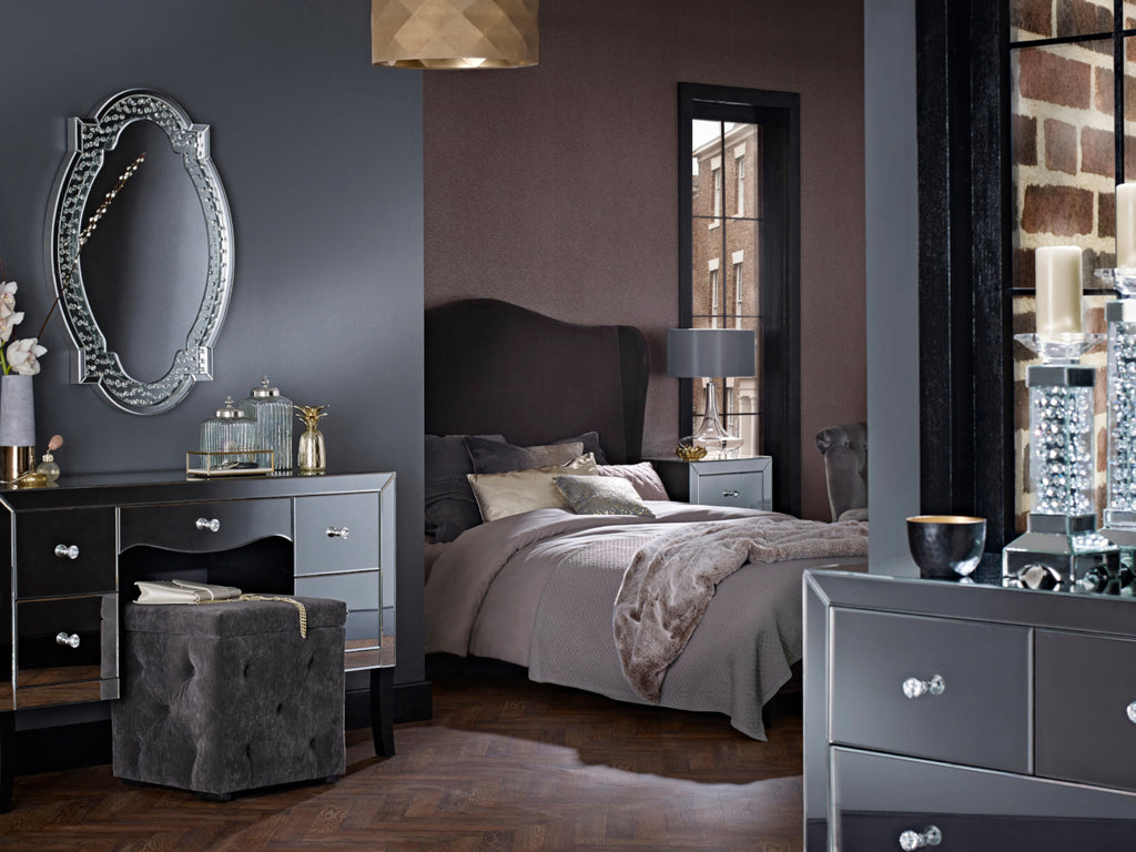 Valentina  Mirrored Bedroom Furniture