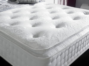 Aurora 1000 Pocket Sprung Luxury Mattress with Pillow Top - Medium