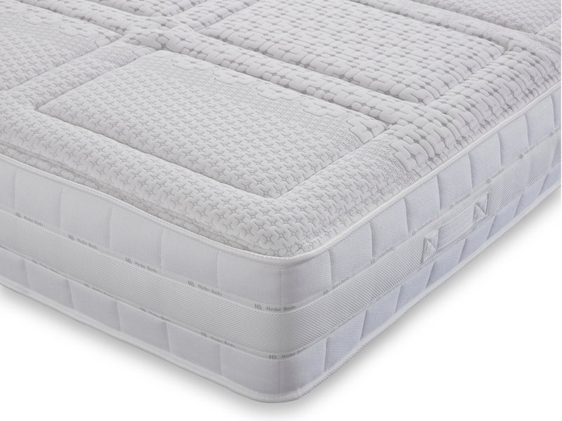 Azolla 1000 Pocket Sprung Luxury Mattress with Hydro Cooling Gel - Medium