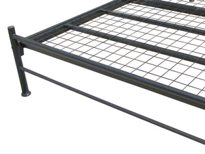 Brighton Luxury Metal Bed Frame in Black