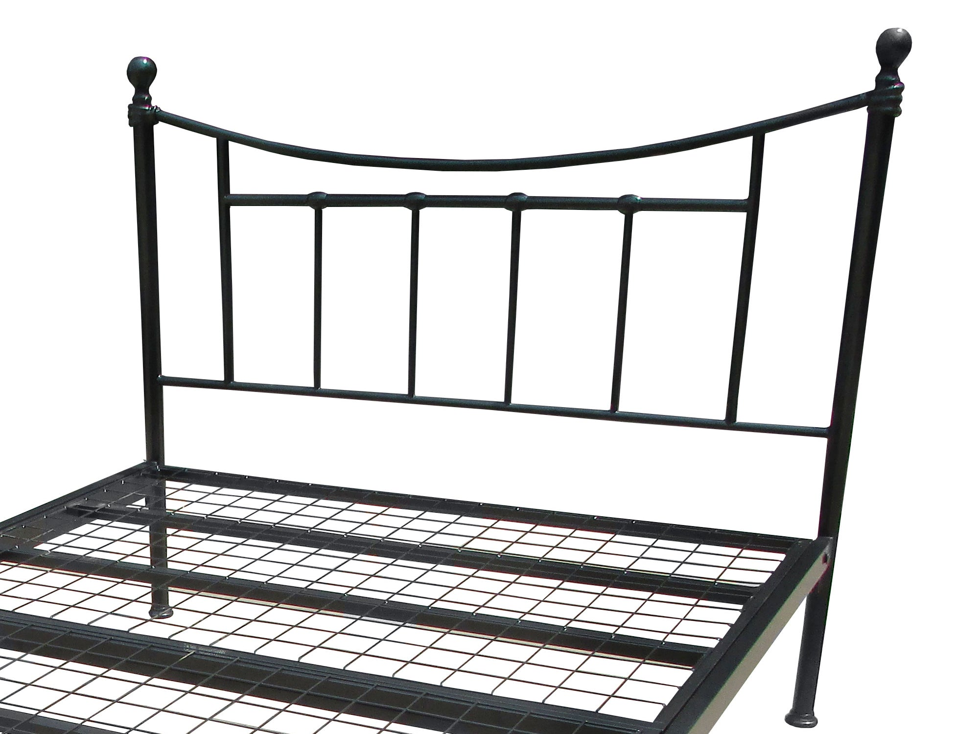 Awe Inspiring Brighton Luxury Metal Bed Frame In Black Onthecornerstone Fun Painted Chair Ideas Images Onthecornerstoneorg