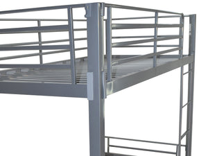 Bunkit Metal Bunk Bed in Silver