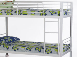Bunkit Metal Bunk Bed in White