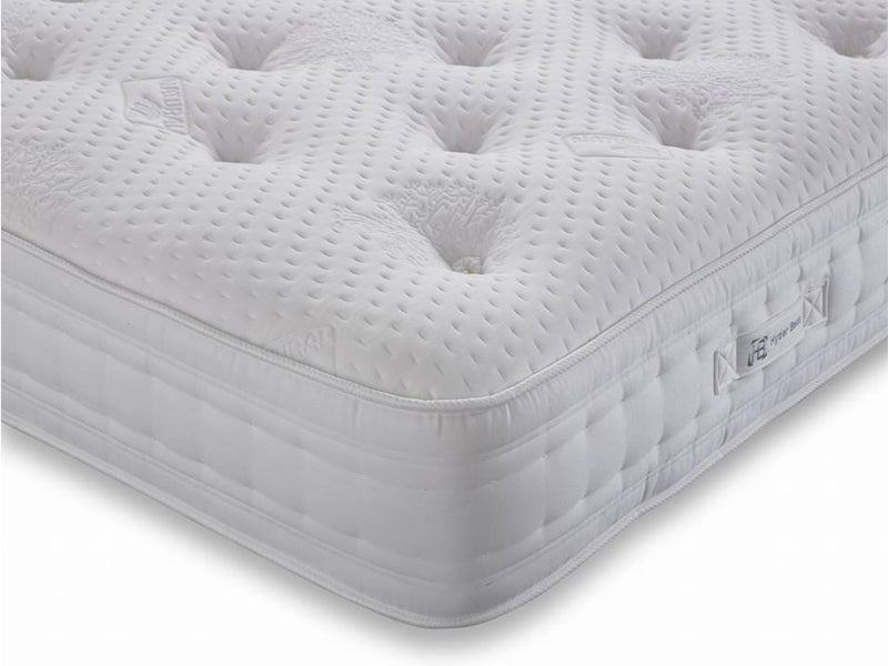 Cassini  Luxury  5000 Pocket Sprung Natural Mattress - Soft/Medium