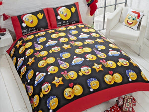Christmas Icons Bedding Set Multi