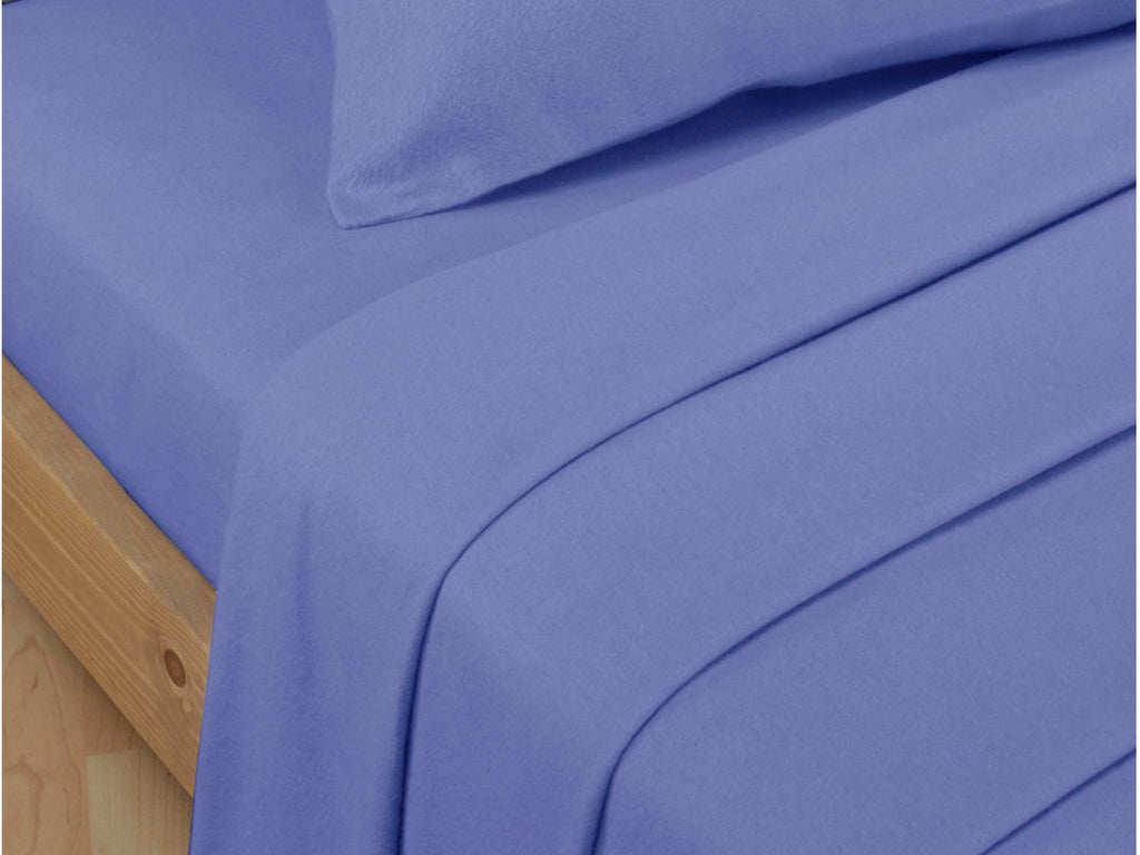 Percale Luxury Flat Sheet Lagoon