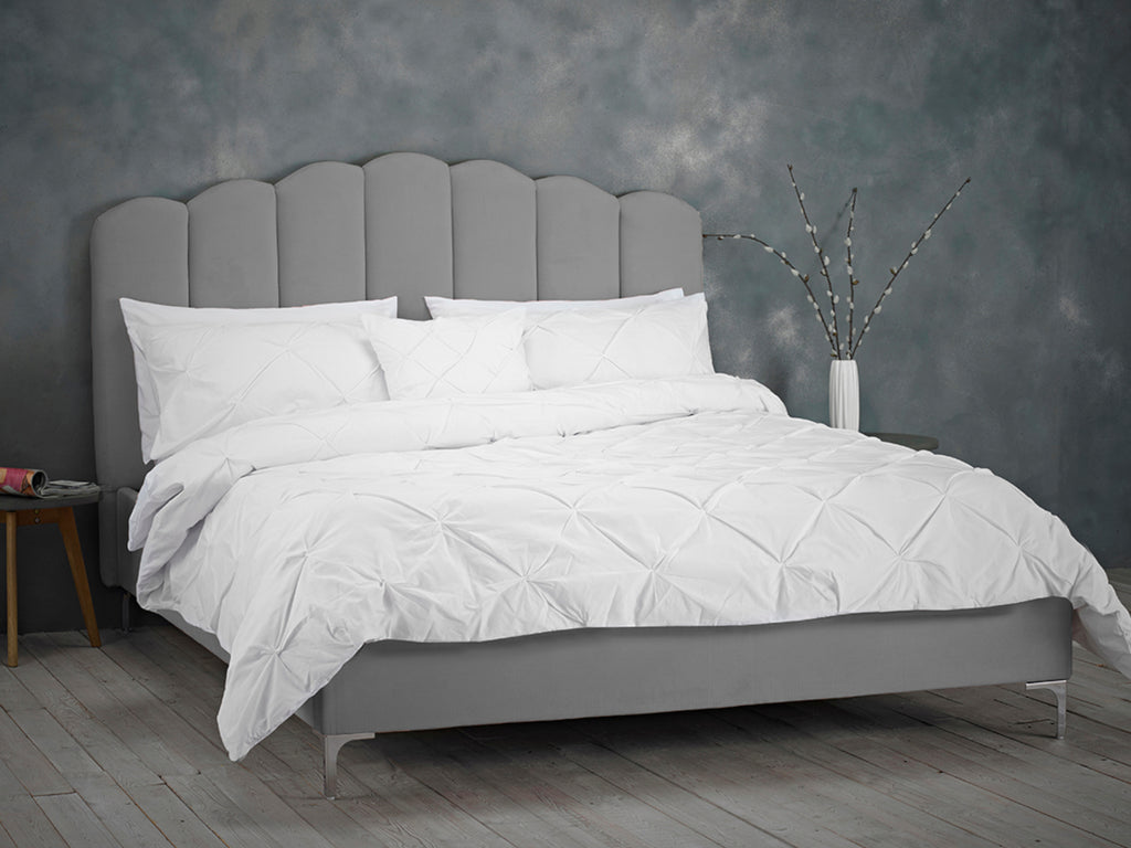 Willow Bed Frame in Soft Silver