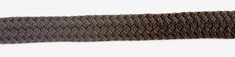 Kingfisher 12mm Doublebraid Dockline Black rope per metre