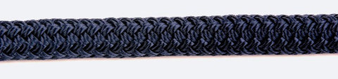 Kingfisher 12mm Doublebraid Dockline Navy rope per metre