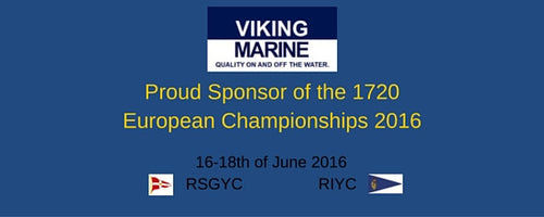 Viking Marine Proud Sponsor of the 1720 European Championships