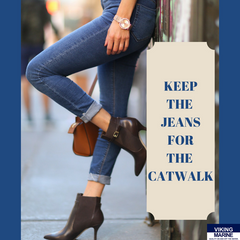 Keep the jeans for the catwalk - Viking Marine