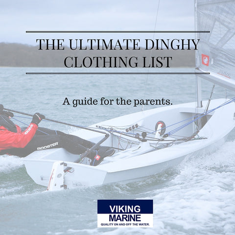 Ultimate Dinghy Clothing List