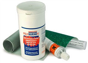 Polymarine Inflatable Boat Emergency Repair Kit - Hypalon - vikingmarine
