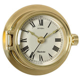 Riviera Brass Clock - Viking Marine
