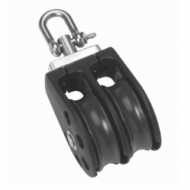 Barton Size 2 Plain Sheave Double Swivel - Viking Marine
