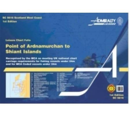 Admiralty Folio SC5616  Scotland West Coast and Outer Hebrides - Viking Marine