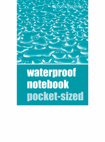 Fernhust Waterproof notebook pocket size