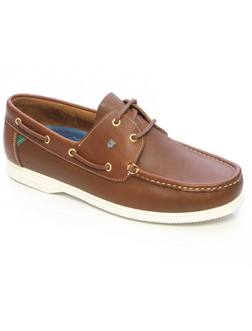 Dubarry Admiral Brown Leather Sailing Shoe in a range of sizes - Viking Marine