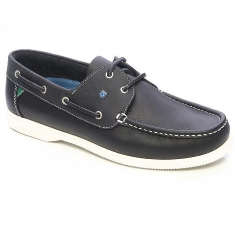 Dubarry Admiral Navy Leather Sailing Shoe in a range of sizes - vikingmarine