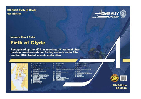 Admiralty Folio SC5610 Firth of Clyde - Mull of Kyntyre to the River Clyde - Viking Marine