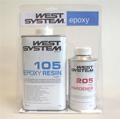 West System Epoxy A-Pack 1KG Repair Kit - Viking Marine