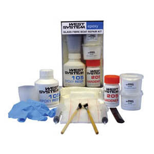 West System Epoxy Glass Fiber Boat Repair Kit (Ireland Only) - Viking Marine