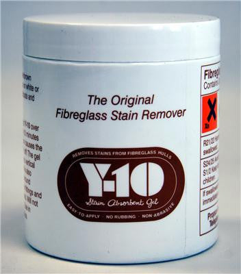 Y-10 Fibreglass stain remover - Viking Marine