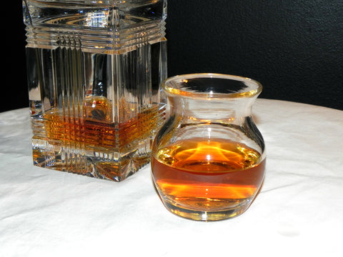 "Hand Blown ""Big Boy"" Scotch Glass"