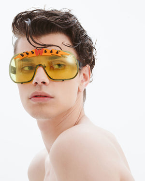 Blitz Solar Shield Sunglasses - Yellow/Orange