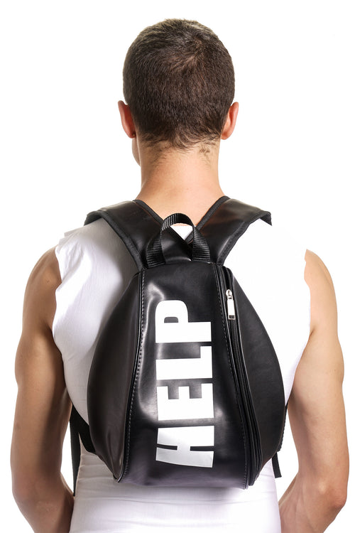 HELP Raver Backpack - Black - Sold Out!