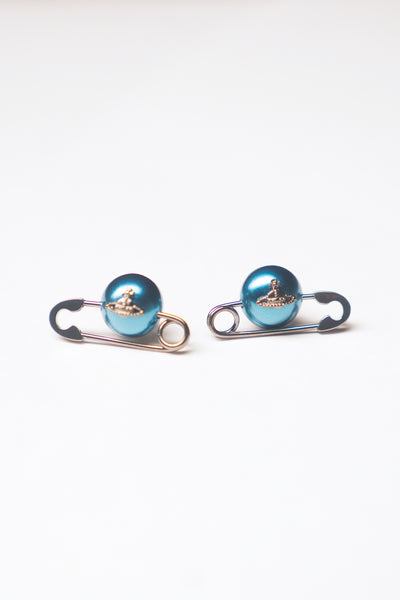 Jordan Earrings - Teal Pearl