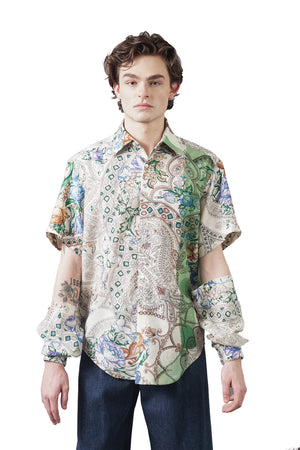 Detachable Sleeve Shirt