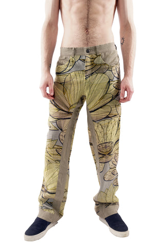 Techflower Pants - Gold