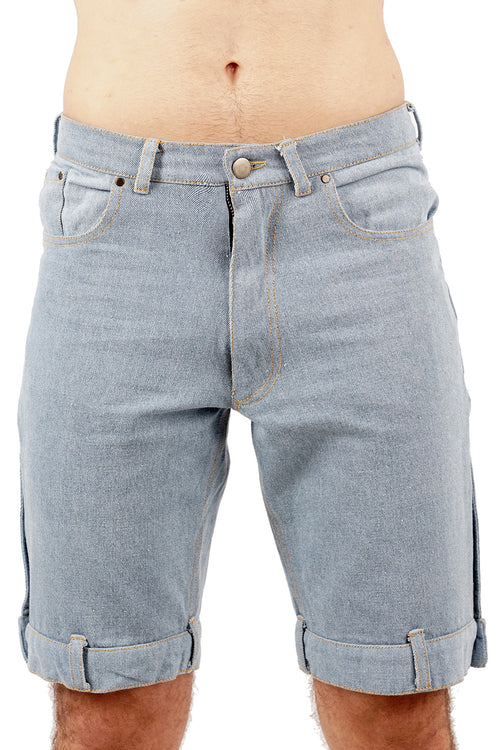 Denim Waistband Shorts - 60% OFF!